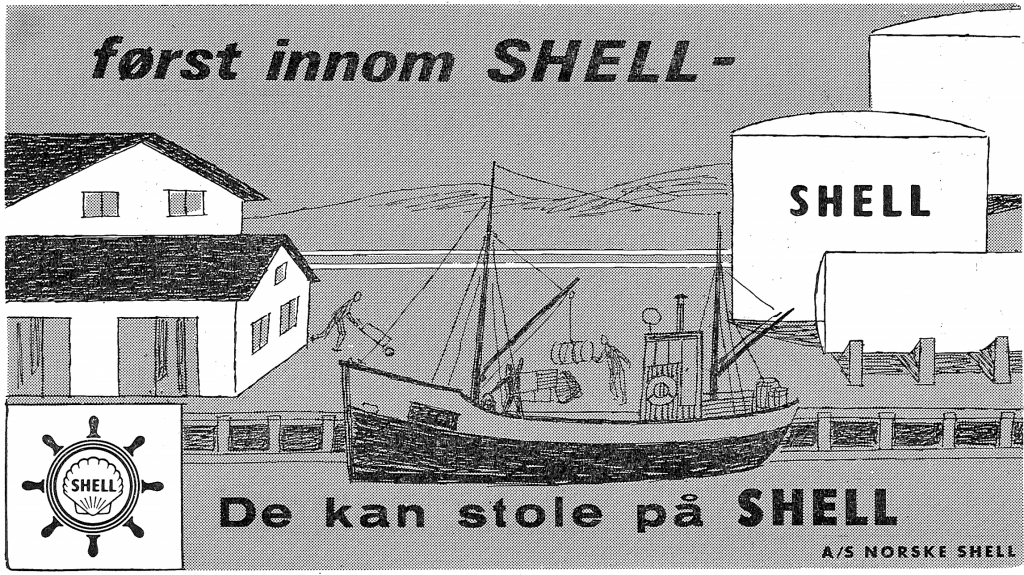 Reklame for Norske Shell